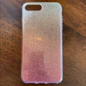 Kate Spade Ombré Glitter iPhone 7/8 Plus Case